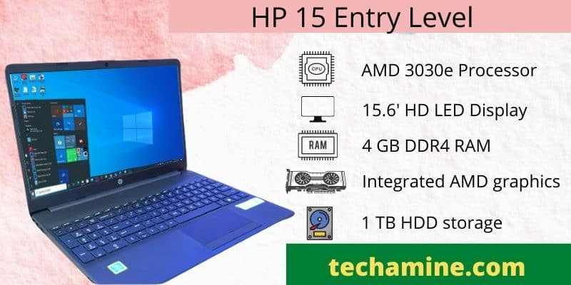 best hp budget laptop for student under 25000