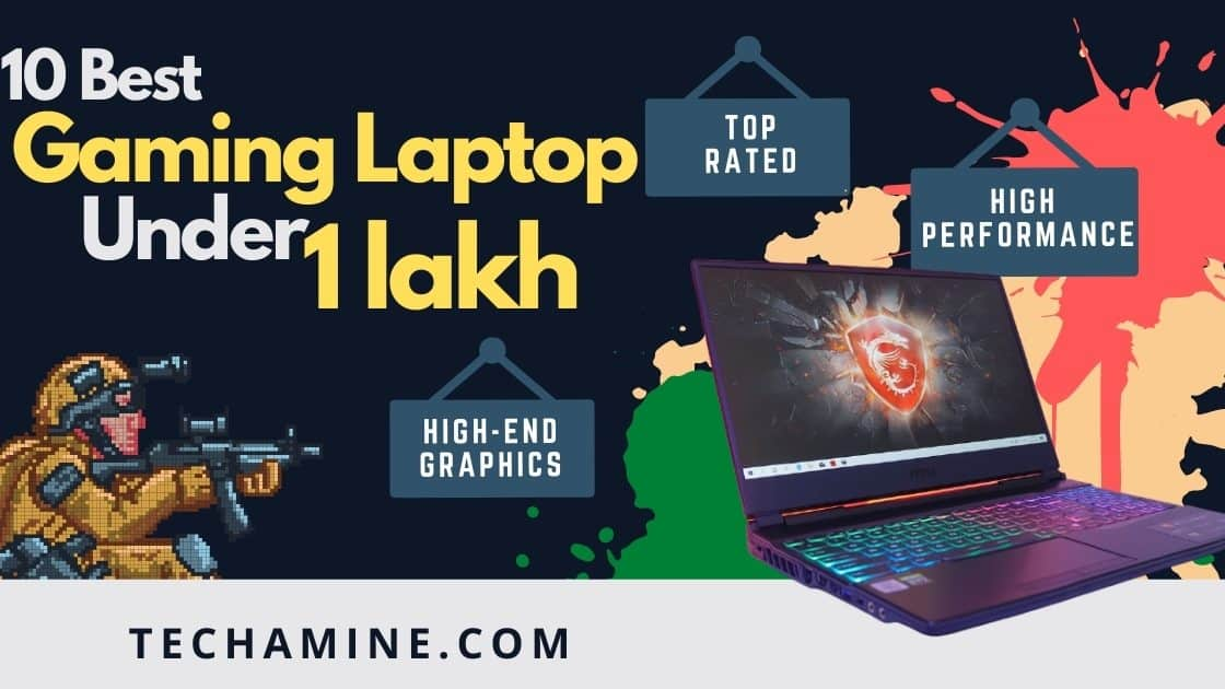 best gaming laptop under 1 lakh in India