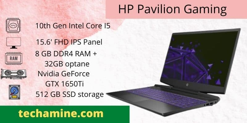 hp Pavilion best gaming laptop by hp under 70000